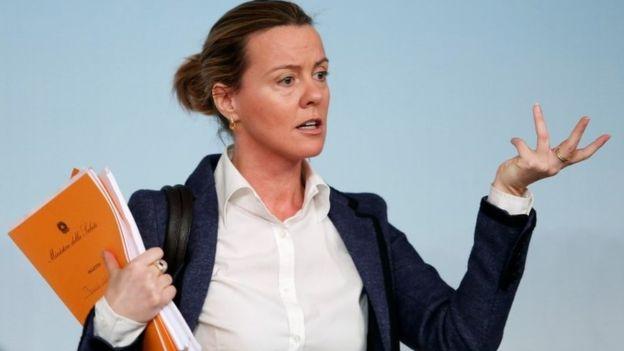 La ministra de Salud italiana, Beatrice Lorenzin, asegura que la campaña fue malinterpretada.