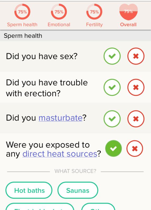 """Una aplicación para el """"hacking fertilidad"""" ahora también funciona para los hombres"""